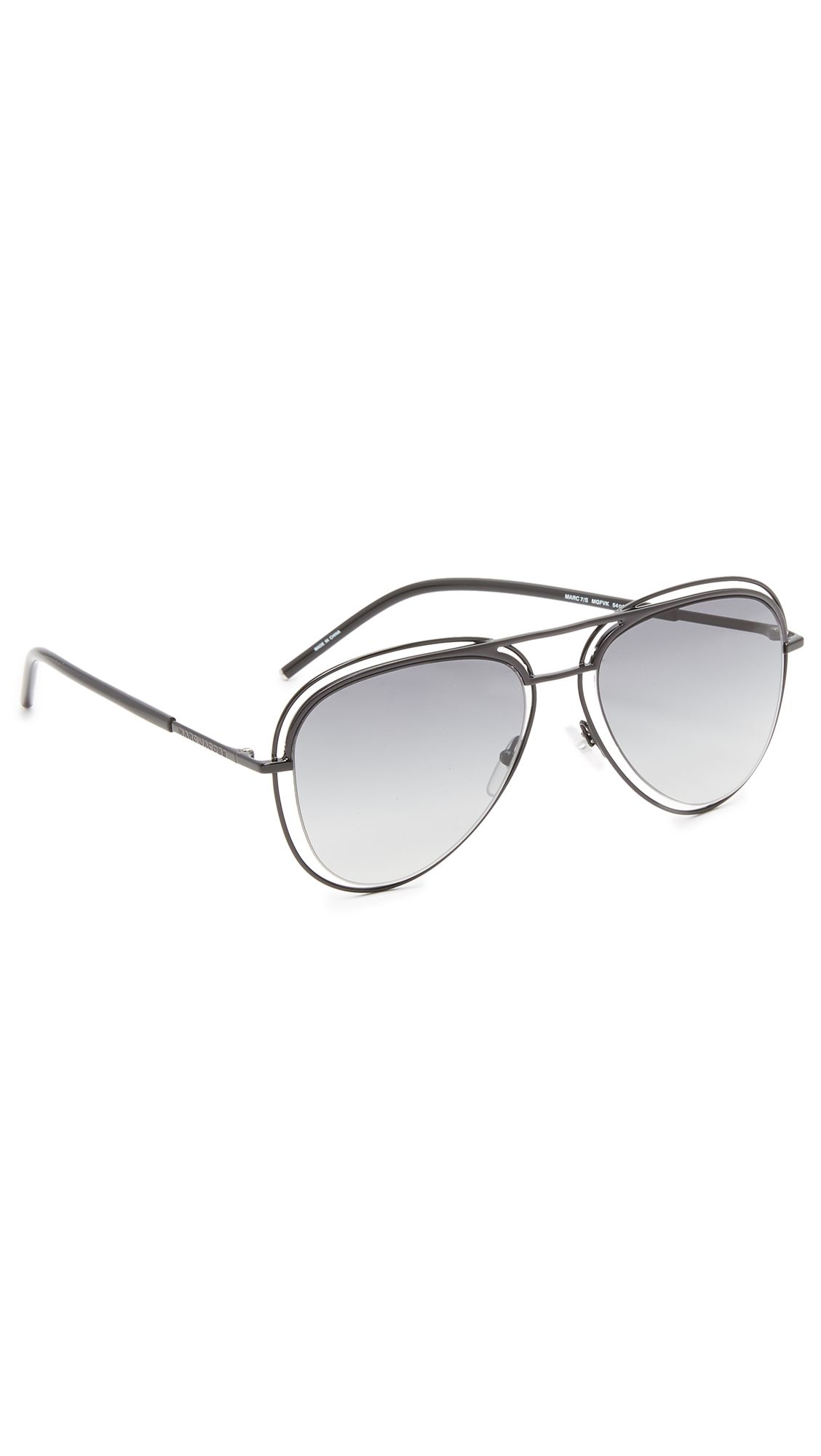 d2d93184c8d MARC JACOBS Double Frame Aviator Sunglasses.  marcjacobs  sunglasses ...