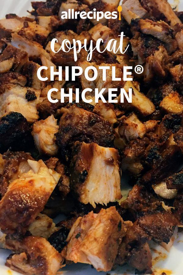 Copycat Chipotle Chicken