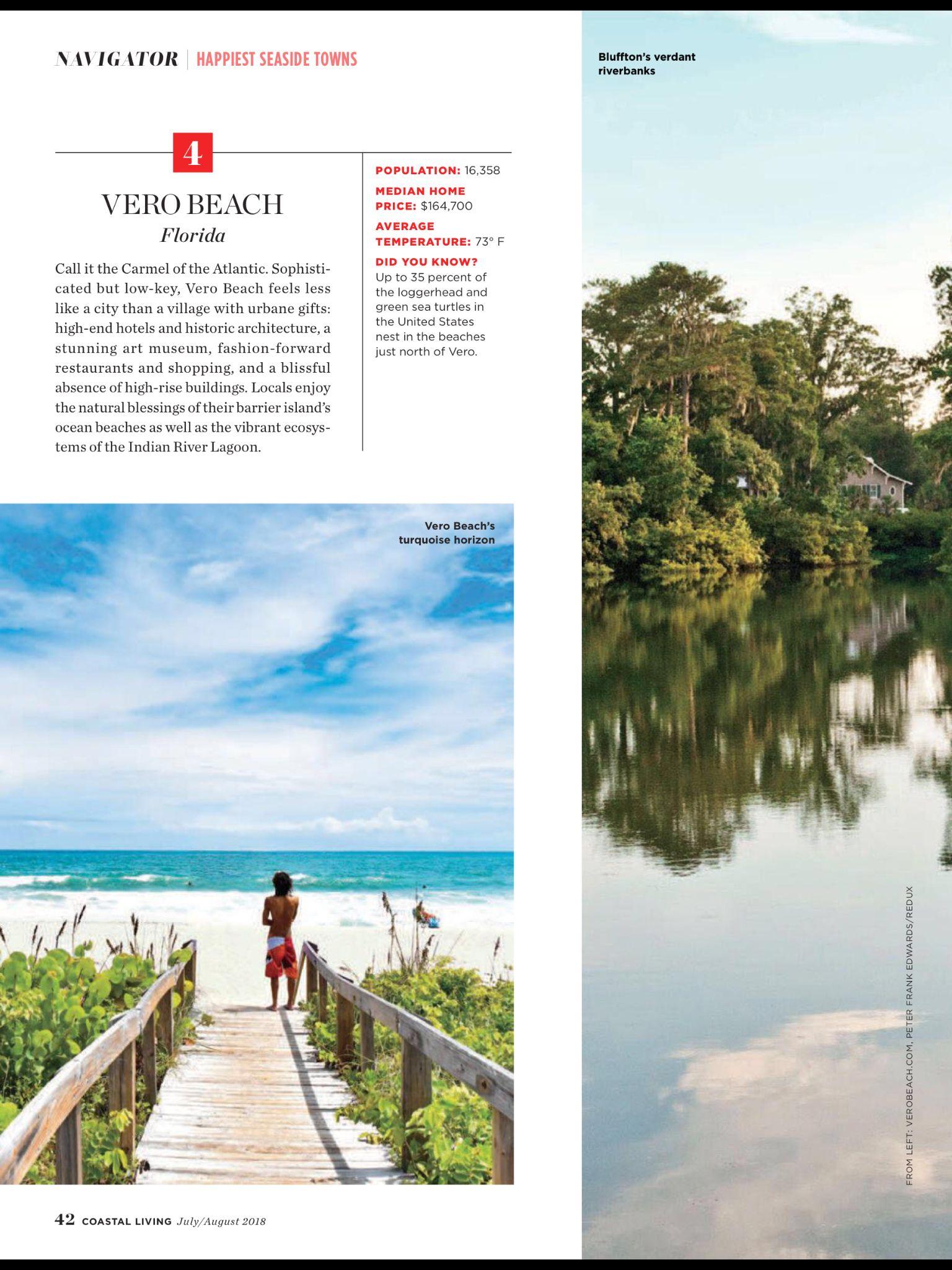2018 america s happiest seaside towns from coastal living july rh pinterest com