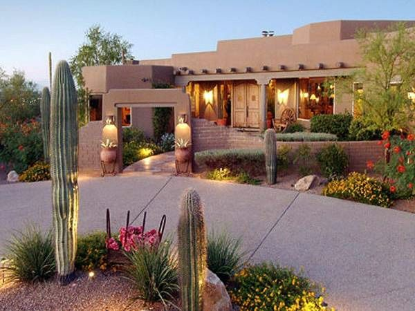 large desert landscaping 25 Breathtaking Desert Landscaping Ideas