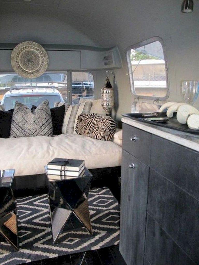 70 wonderful camper van interior decor ideas campervan rh pinterest com
