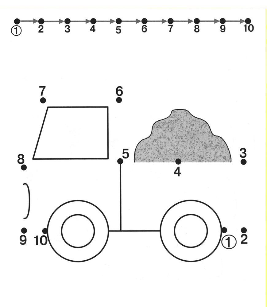 Free dot to dot worksheets for kids Part 2  VorSchule