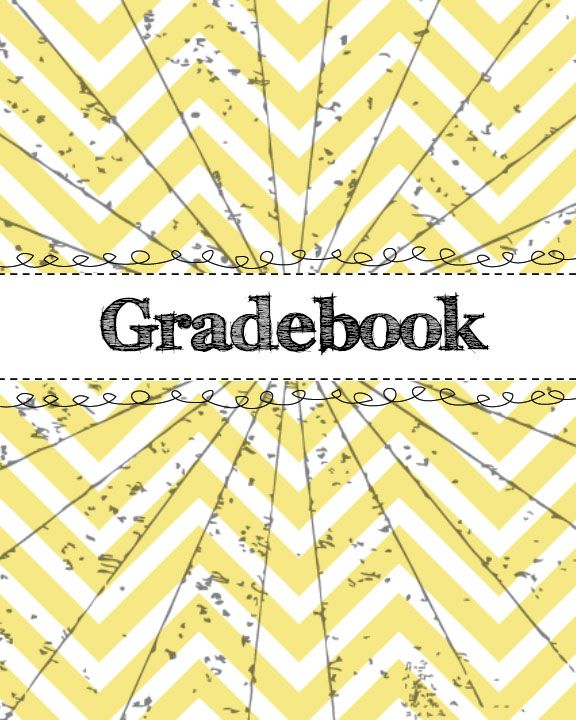 #Binder #divider #gradebook #printable For #college