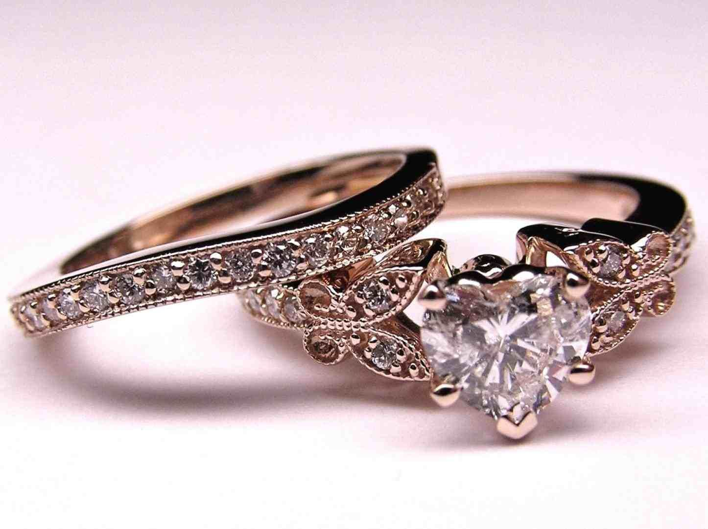 Beautiful Wedding Rings Tumblr Heart Shaped Engagement Rings