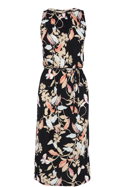 OASIS | Shadow Butterfly Midi Dress | 96% viscose, 4% viscose | £35