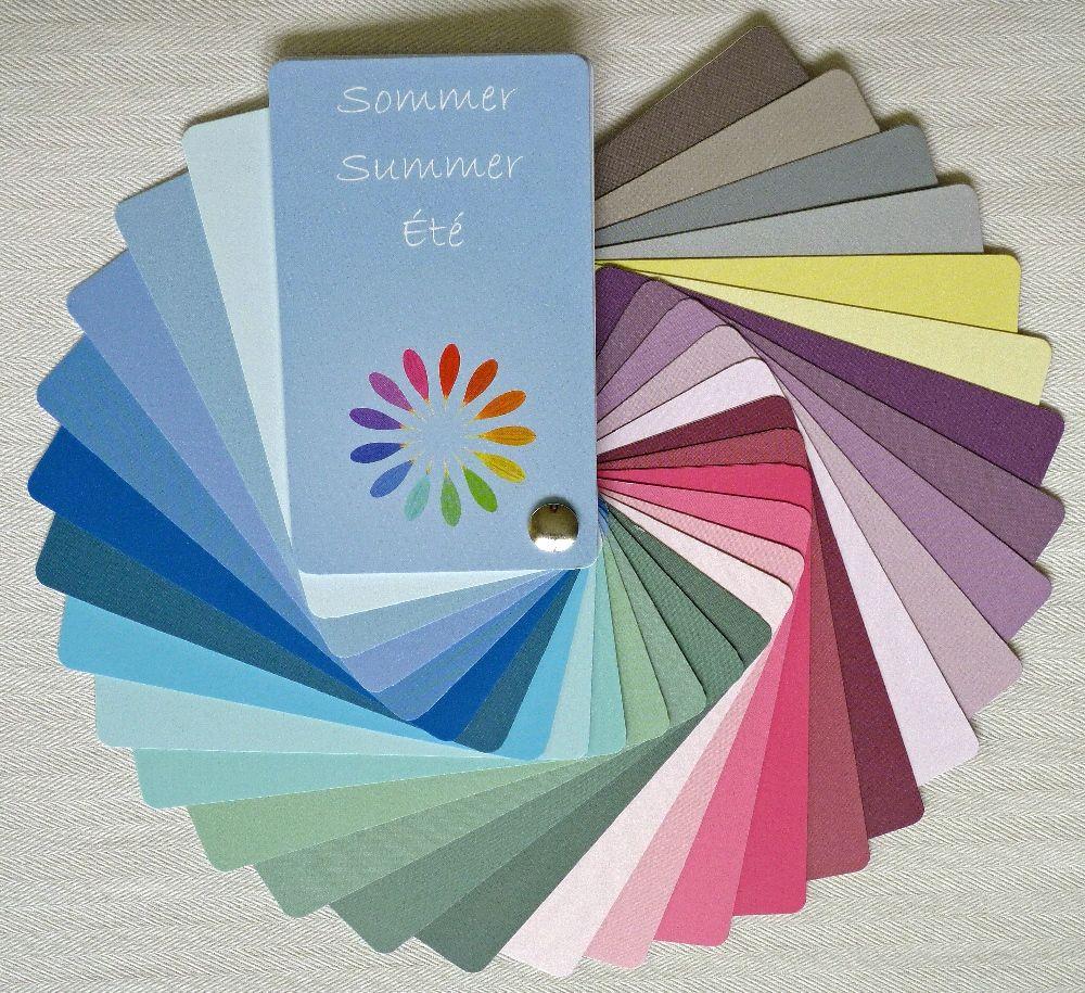 Summer Color Palettes, Soft