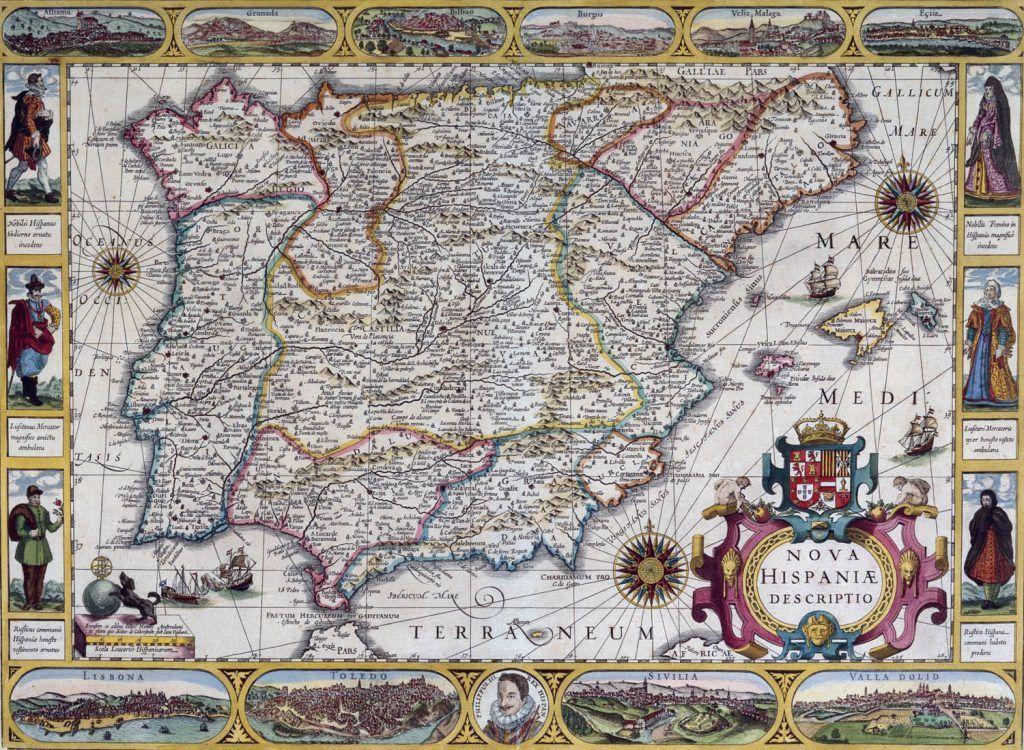 Africa Map Horn Of Africa%0A La historia de Espa  a vista a trav  s de    mapas   Geograf  a Infinita