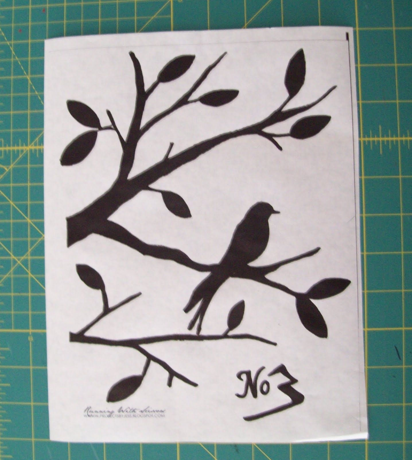 bird stencils free printable next you ll cut out the image making rh pinterest com