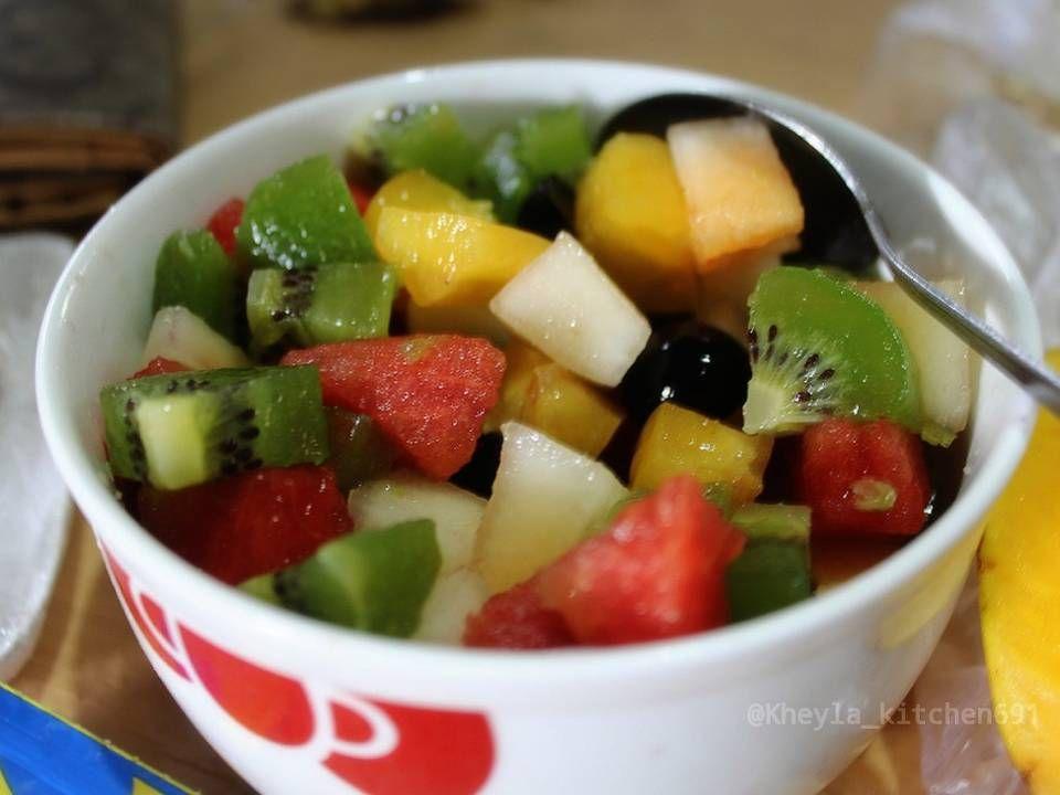 Resep Salad Buah Simple Oleh Kheyla S Kitchen Resep Resep Salad Resep Sederhana Resep Masakan Sehat