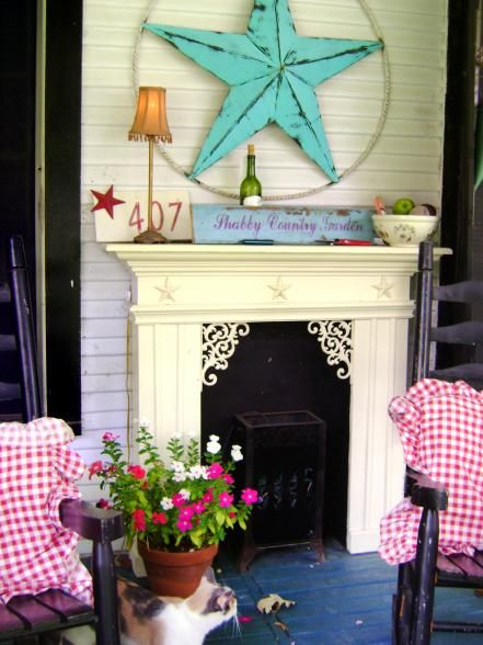 shabby chic decorating ideas for porches and gardens pinterest rh pinterest com