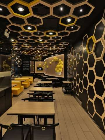 hexagonal honeycomb restaurants romantic destinations restaurant rh pinterest com