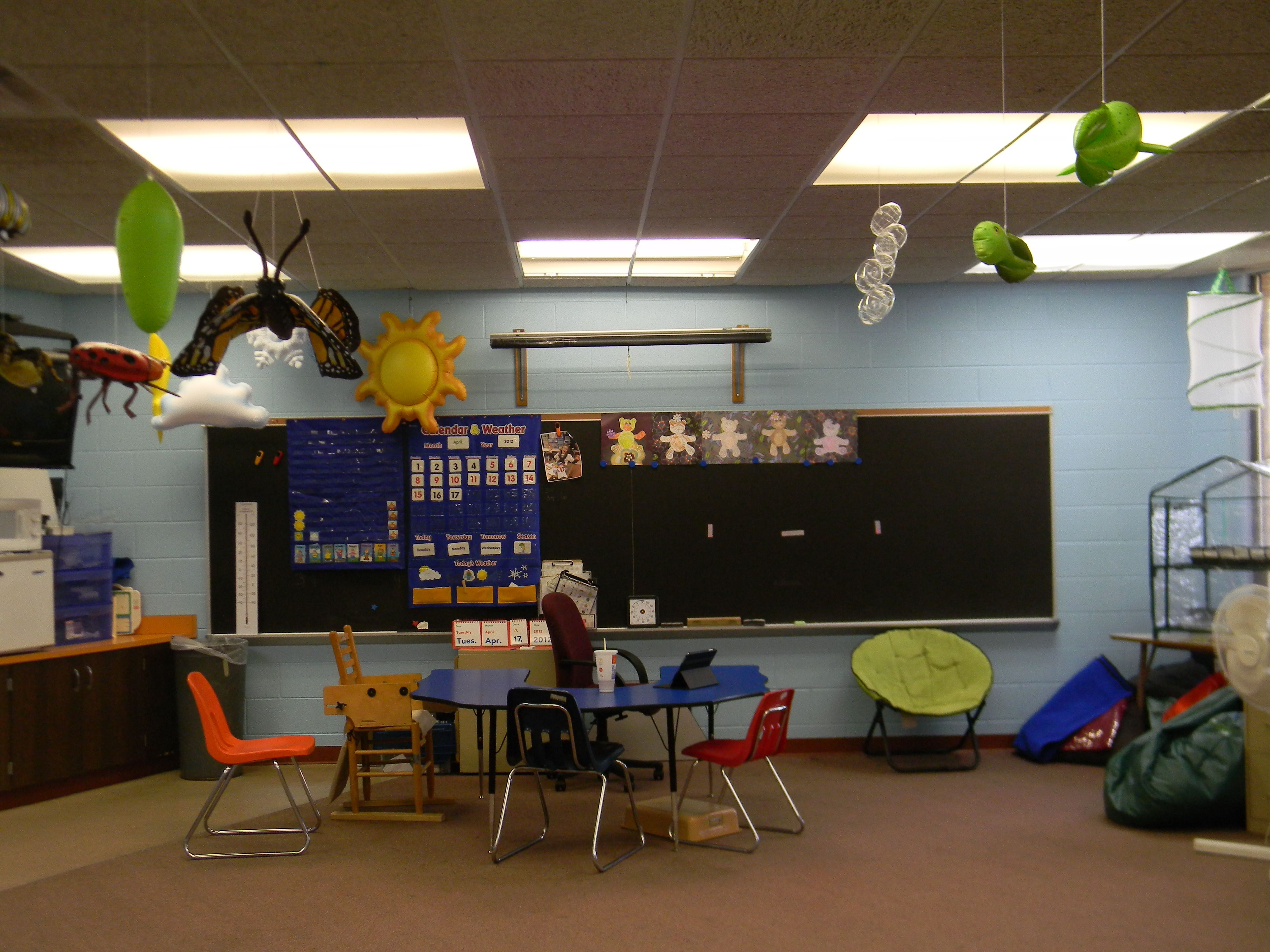 My Classroom With Spring Unit Decorations