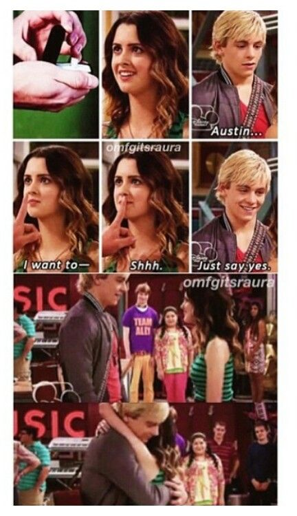 Auslly dating fanfiction