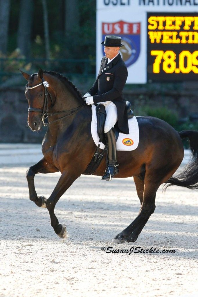 Steffen Peters and Weltinos Magic