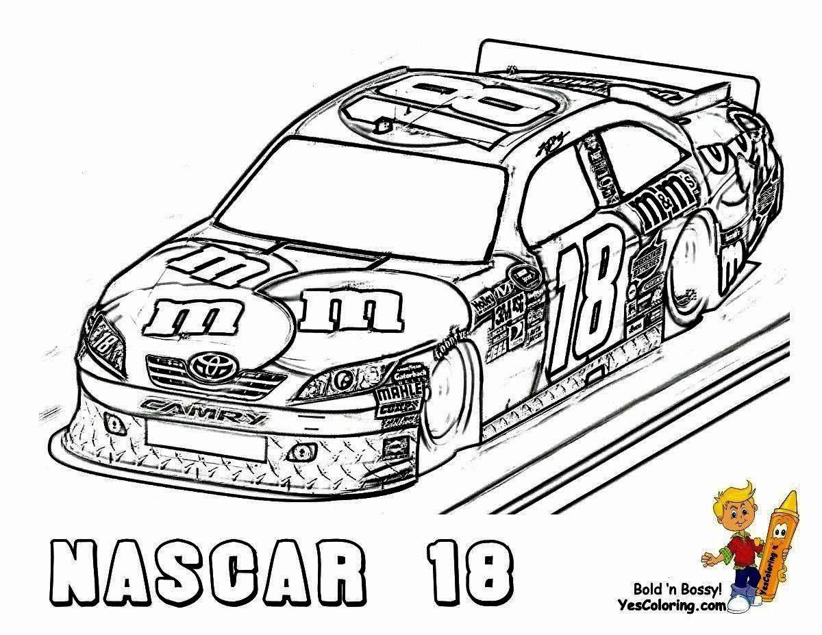 Inspirational Decoloriages Inspiration Coloriages Coloring Creative Voiture Nascar Course Pages P In 2020 Race Car Coloring Pages Cars Coloring Pages Nascar