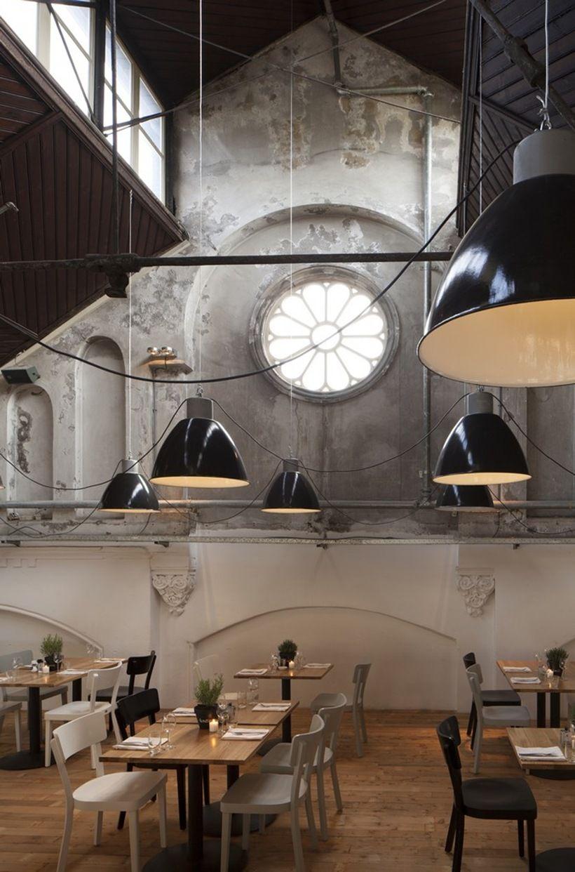Restaurant Mercat Amsterdam Modern and Contemporary