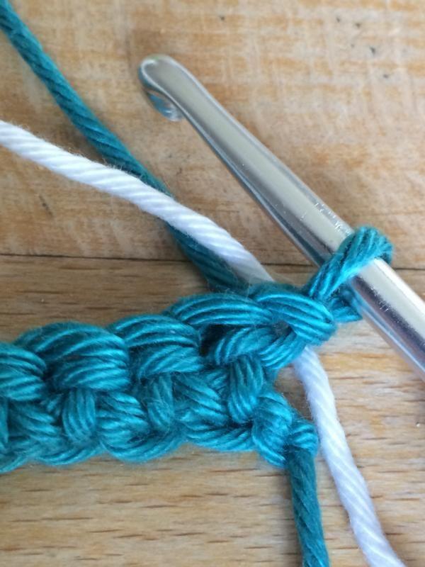So Gehts Farbübergang Farbwechsel Häkeln Häkeln Stitch