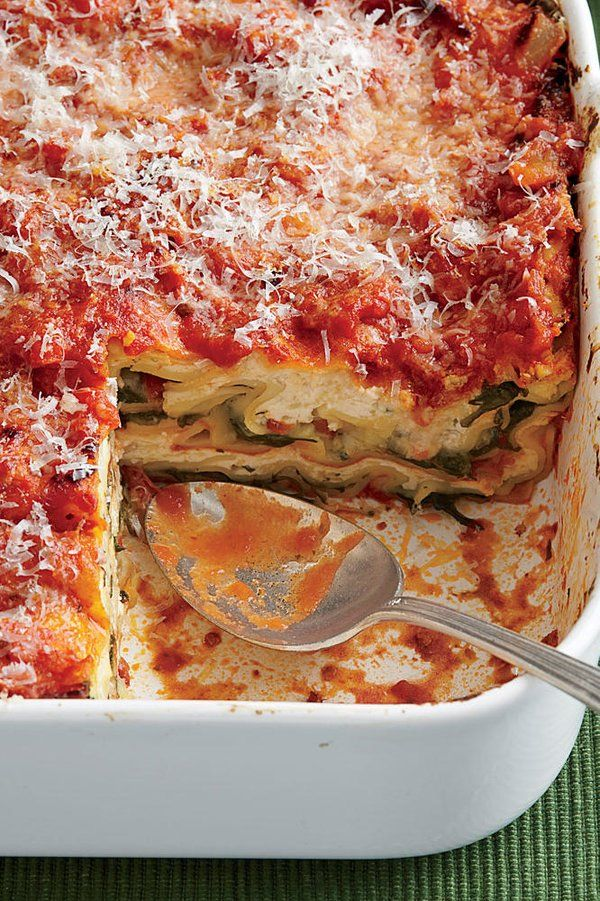 Spinach Lasagna Spinach Lasagna |
