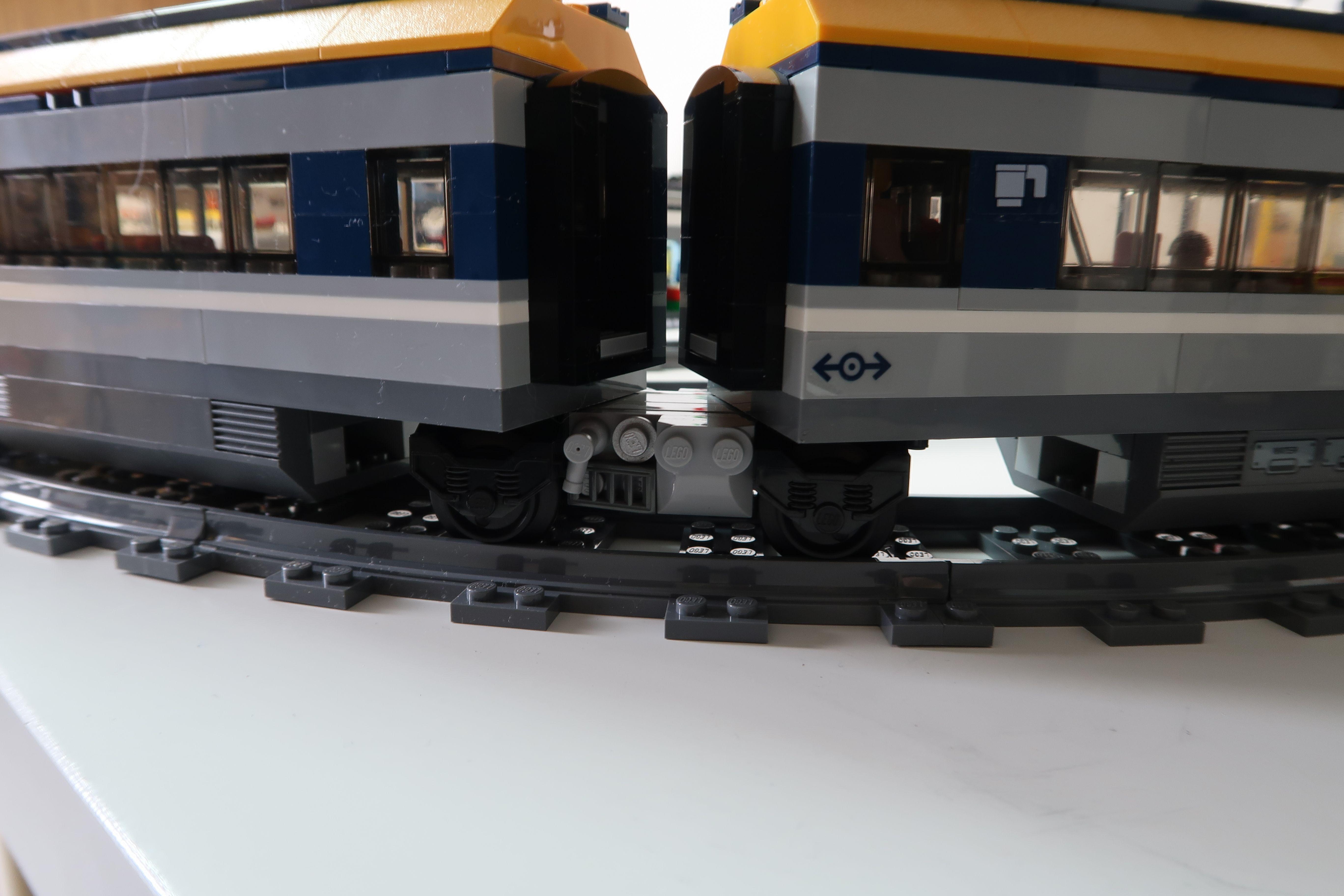 Lego City Passenger Train How To Modify With Jacobs Bogies 60197