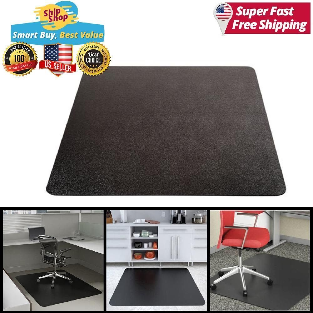 Desk Chair Floor Mat Carpet Protector Rug Pvc Hard Plastic Home