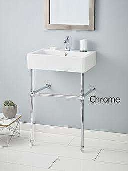 """Photo of Nuovella 24 """"Glass Body China Console Toilet / Sink – Multiple finishes available"""
