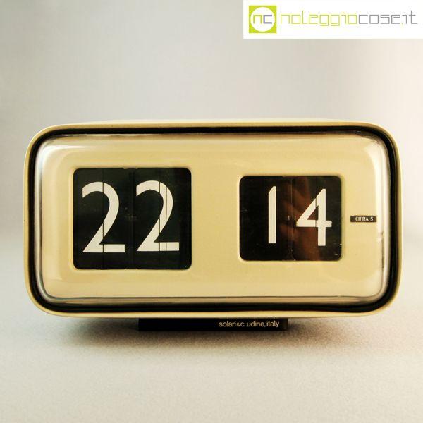 Cifra 5 Clock - Gino Valle 1955