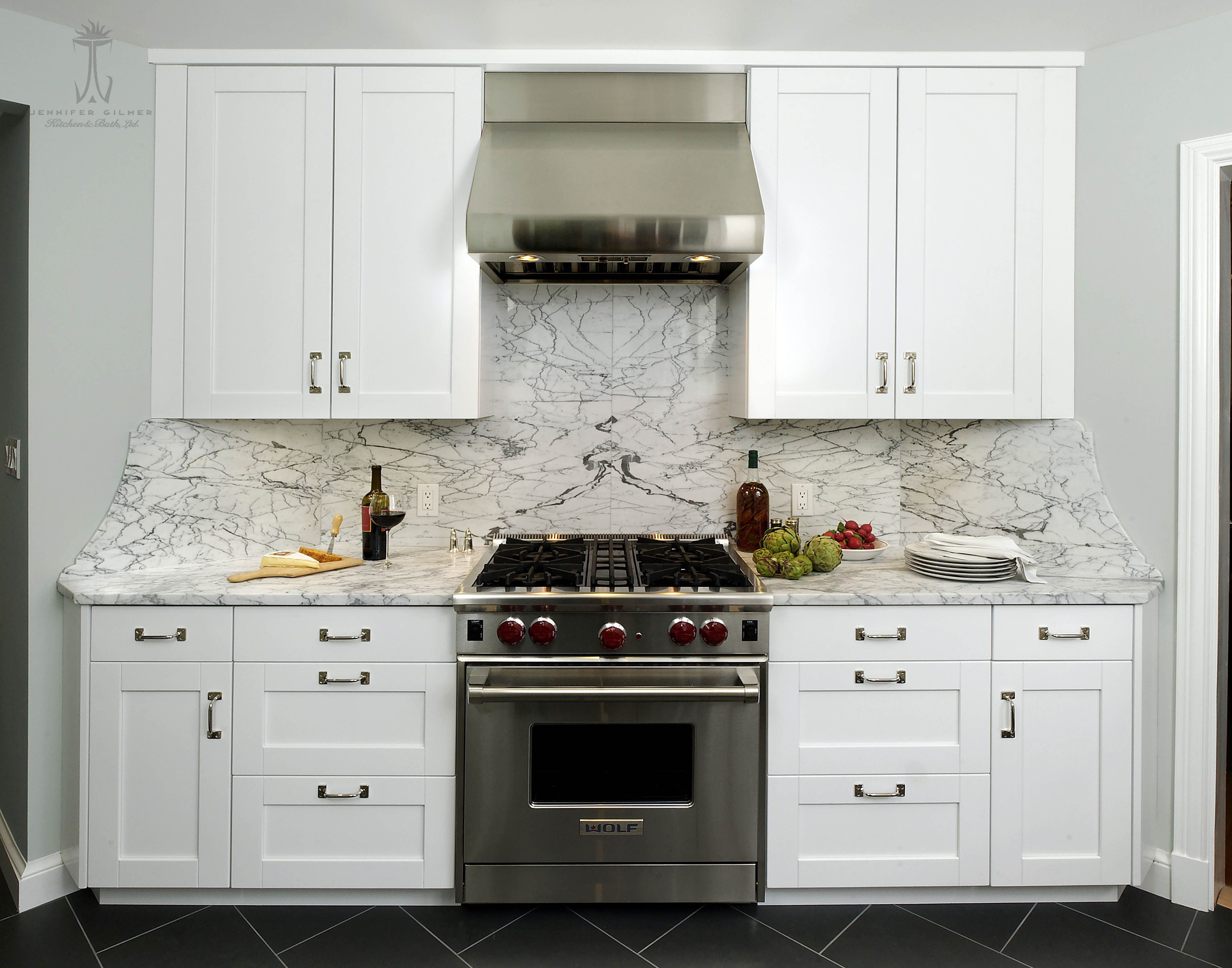 Design by Jennifer Gilmer Kitchen & Bath in Washington DC includes ...