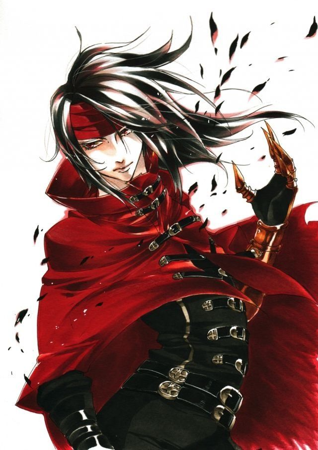 Vincent Valentine Fan Art Final Fantasy Vii Final Fantasy Vii