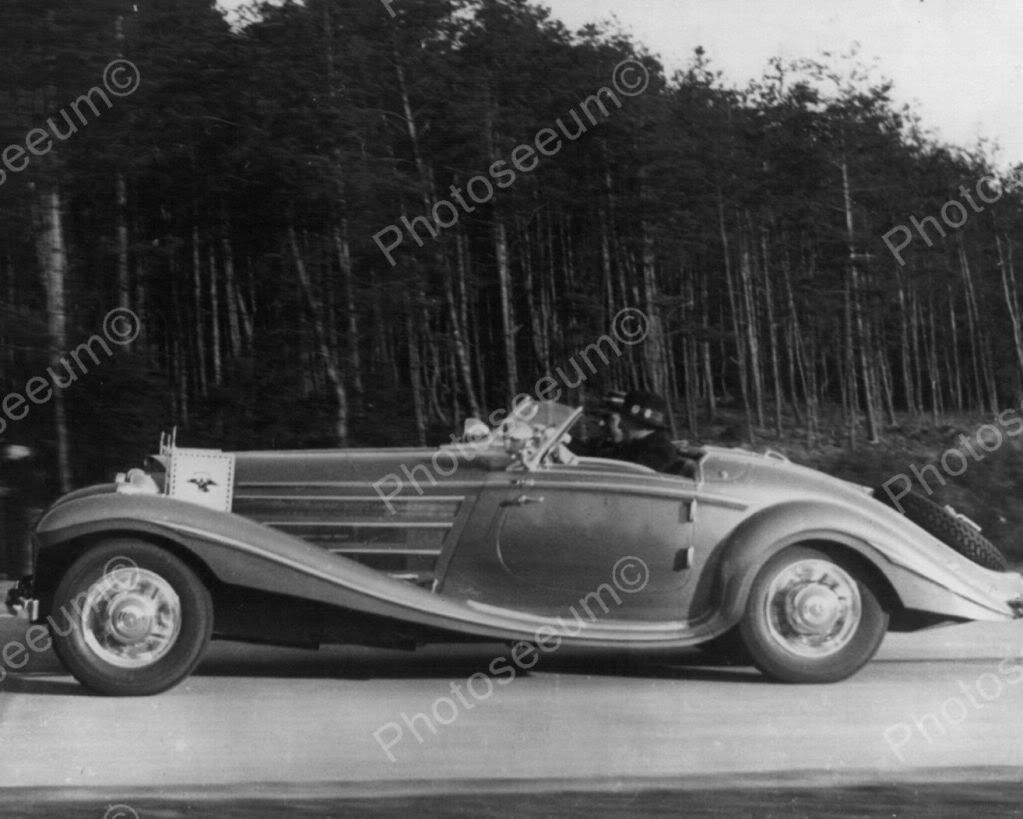 Mercedes Benz Vintage Automobile 8x10 Reprint Of Cars Old Photo ...