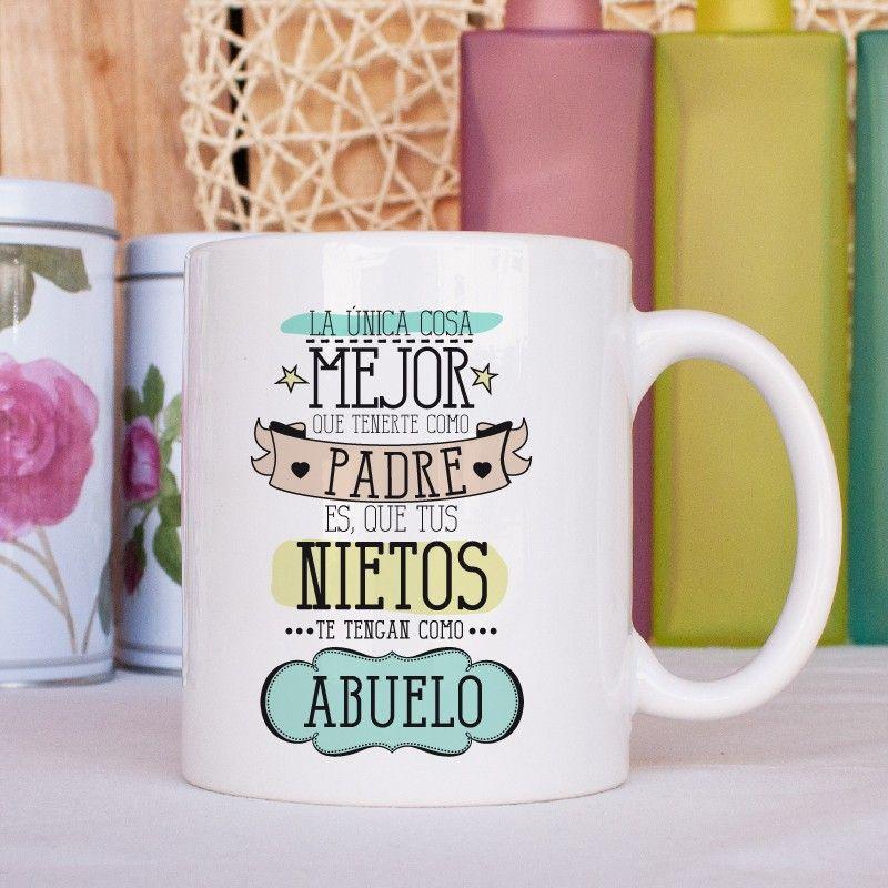 Taza la nica cosa mejor que tenerte como padre es que for Tazas para desayuno