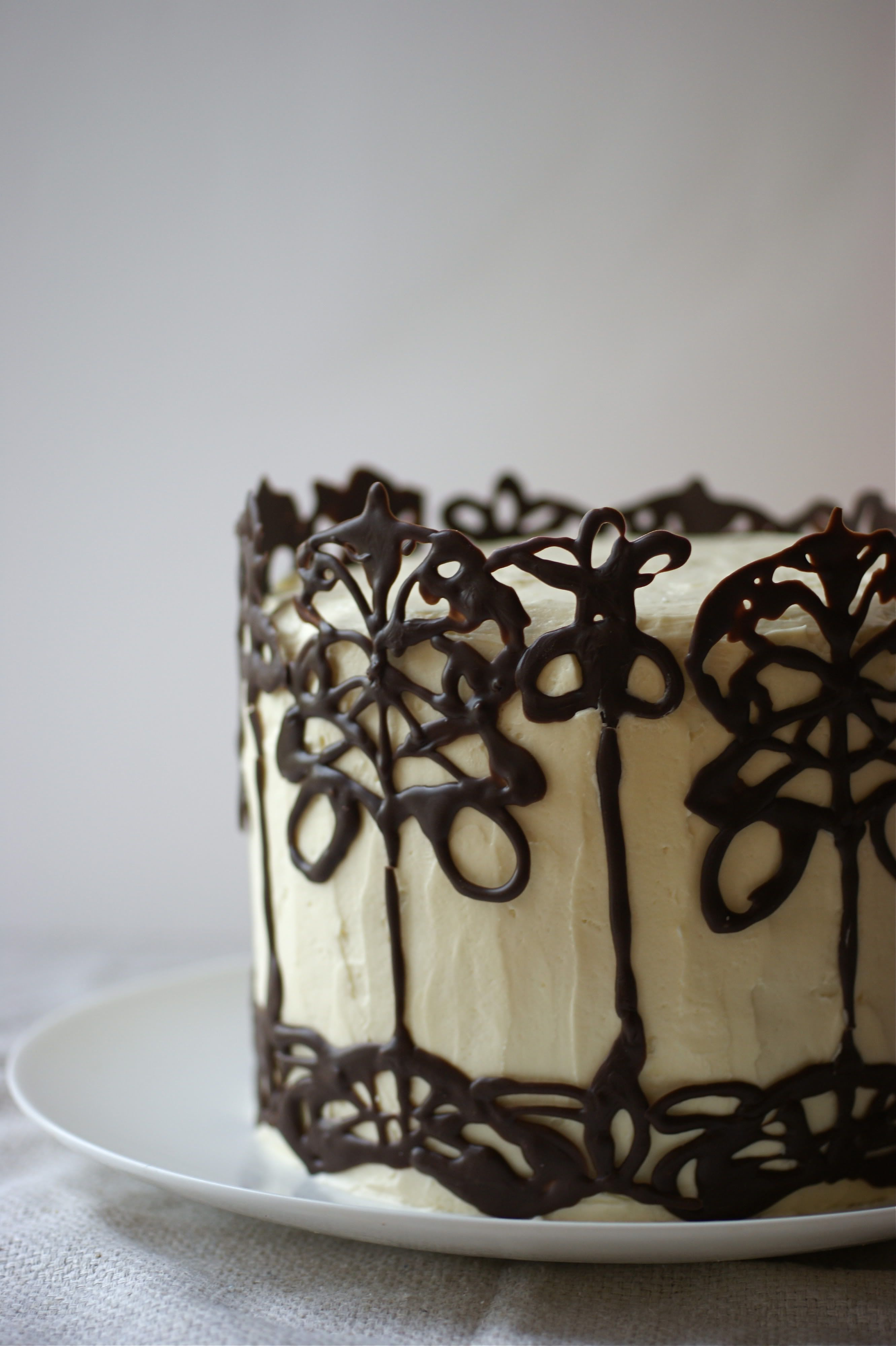 Whisky And Dark Chocolate The Beautiful And The Damned Cake