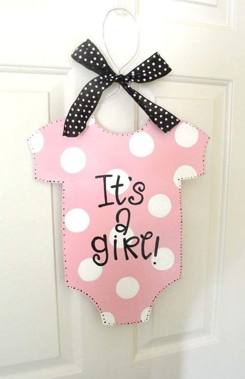 10 baby shower decoration for girls shower baby the for Baby shower front door decoration ideas
