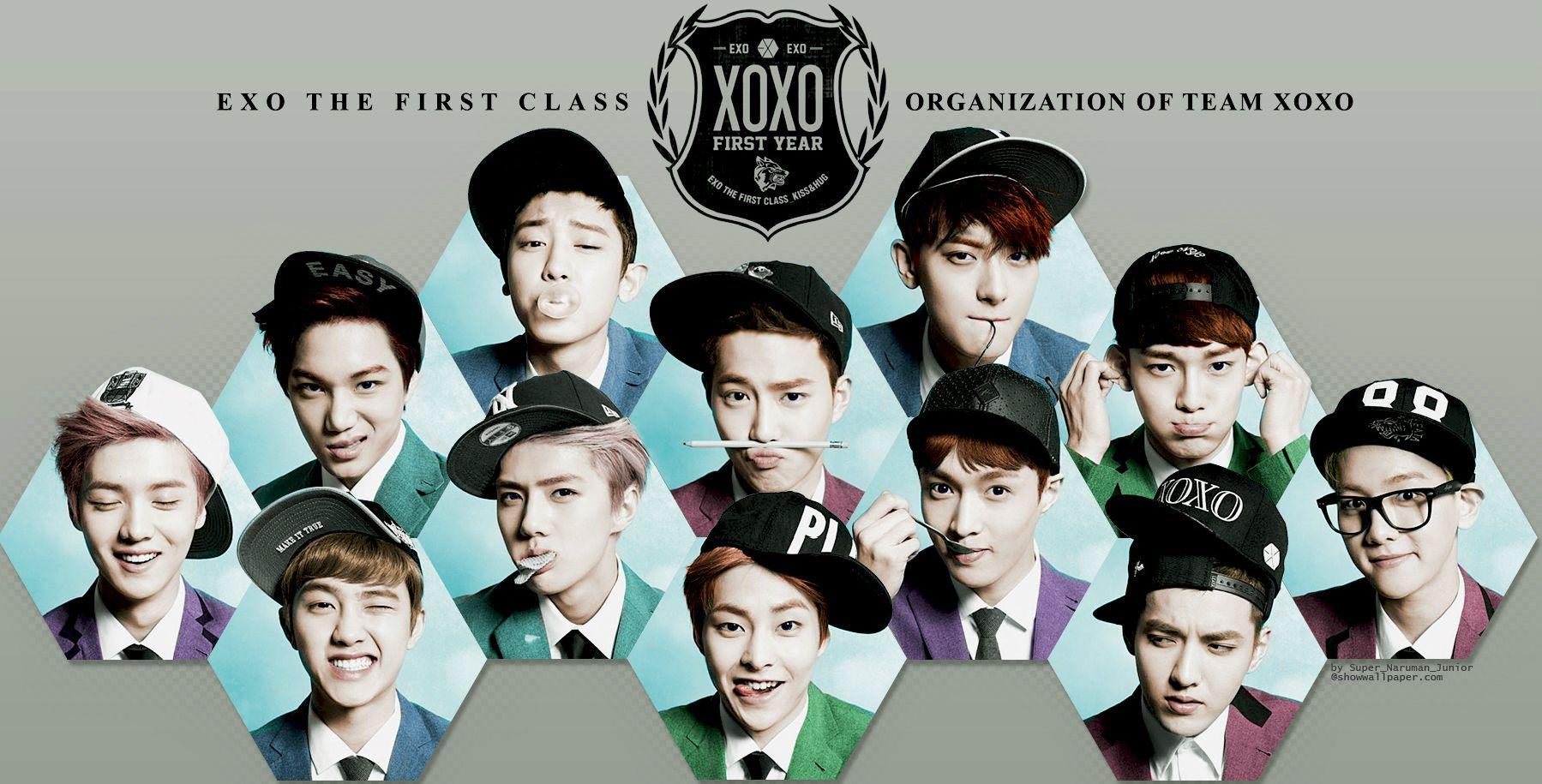 EXO Desktop Wallpaper. EXO♡ Pinterest Exo and Kpop