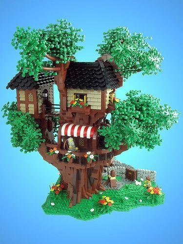 Lego Tree House Lego Tree Lego Tree House Custom Lego