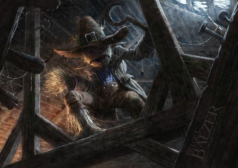 Artstation Scarecrow By Helge C Balzer Helge C Balzer Scarecrow Art Painting