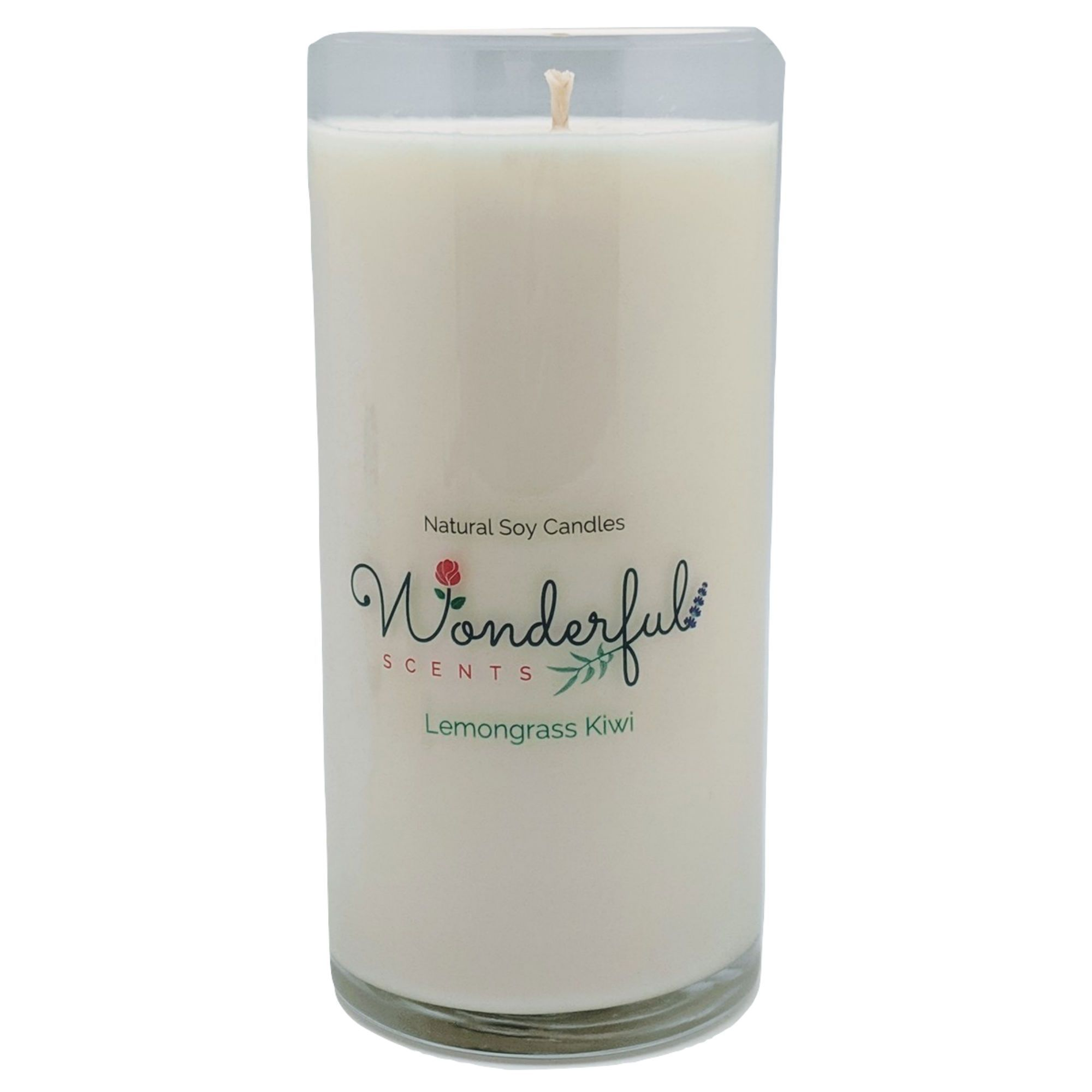 Soy Wax Pillar Candles With Cotton Wick And Essential Oils