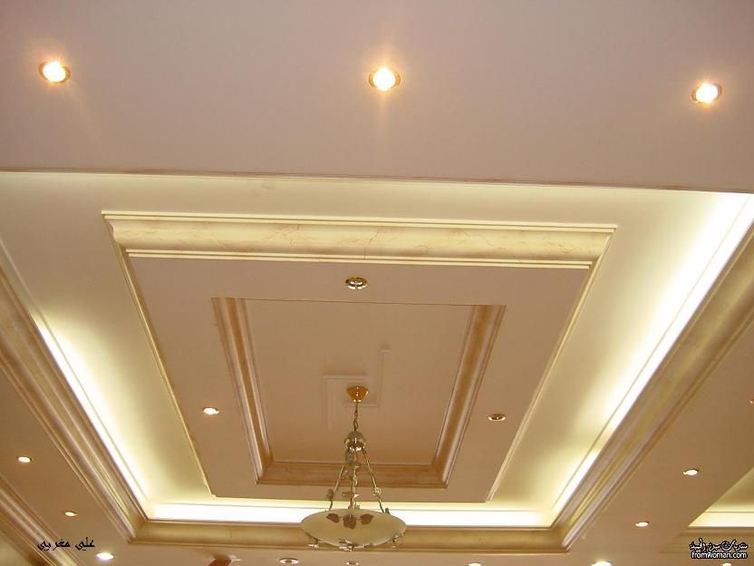 Awesome Gypsum Ceiling For Minimalist Home