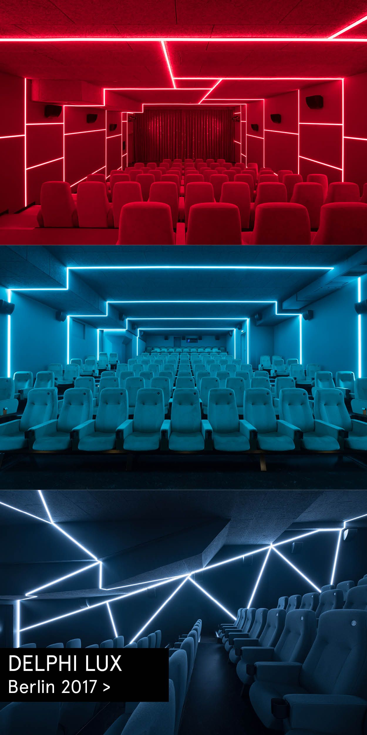 Interior Design For All Theatres And Public Areas In The