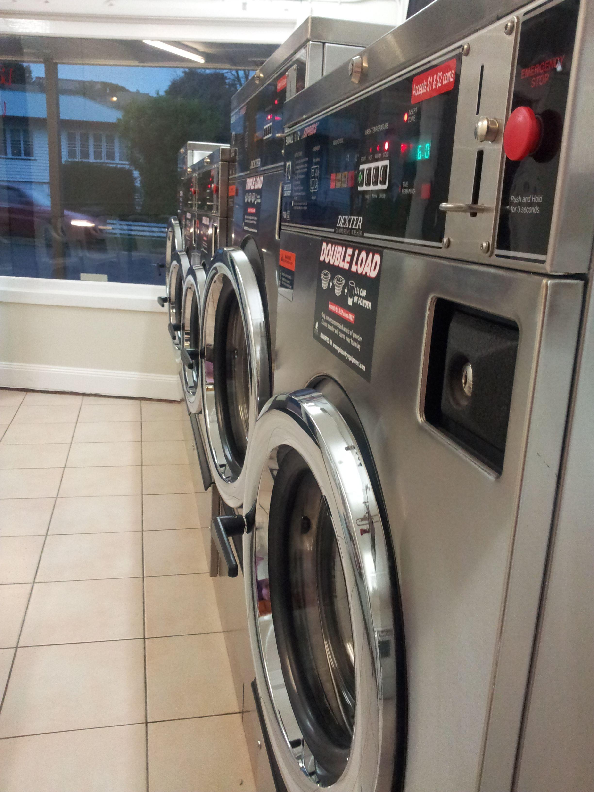Dexter Express Washers At Indooroopilly Laundromat In Taringa Brisbane Australia Indooroopilly Brisbane Australia Laundromat Self Service Laundry