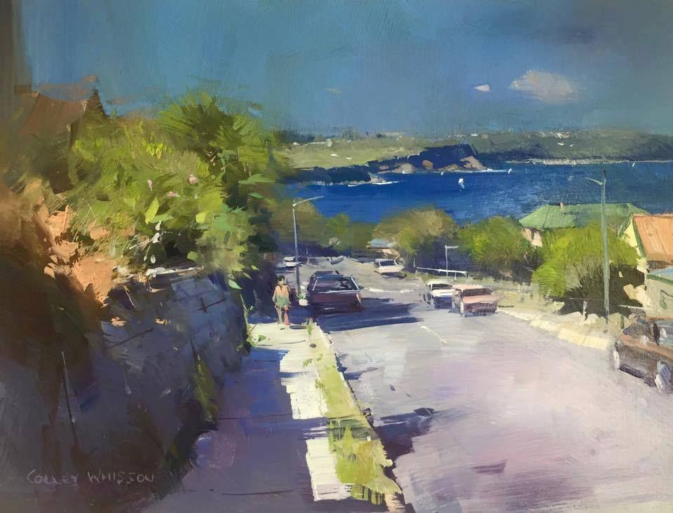 Artist Colley Whisson Australian Painter Landscape Artist Architecture Painting Oil Painting Landscape