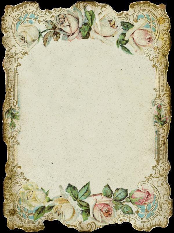 Днем, формат старой открытки