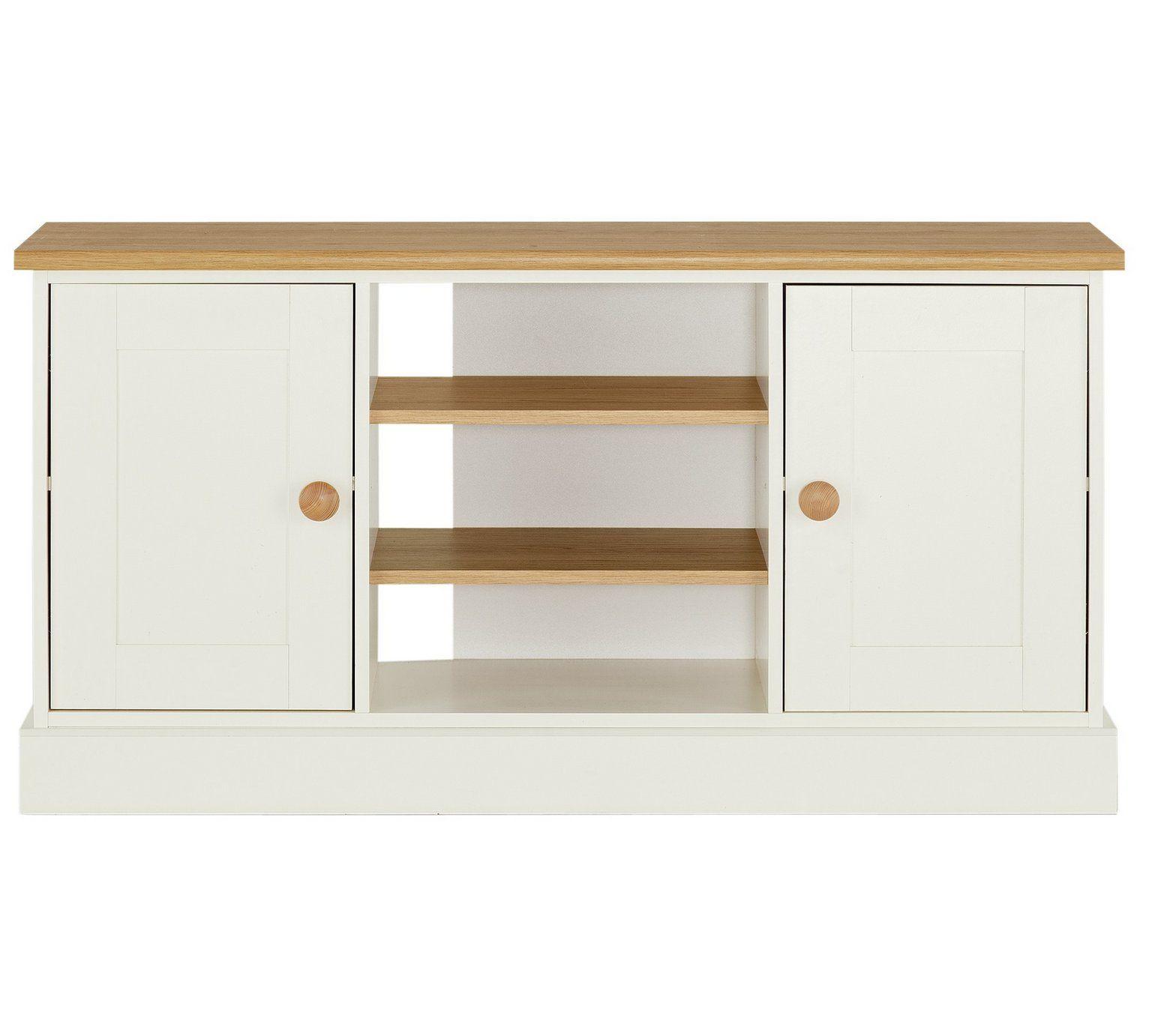 Buy Argos Home Winchester 2 Door Sideboard Tv Unit Two Tone Sideboards Tv Unit Tall Sideboard Locker Storage