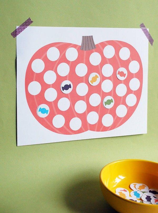 Halloween Countdown Calendar Printable for Kids halloween