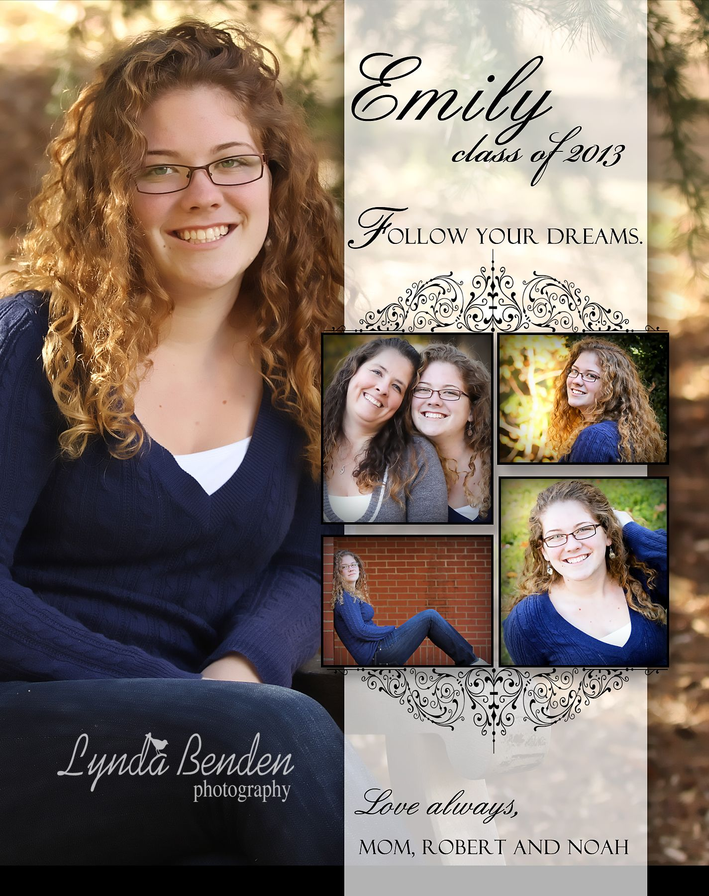 Yearbook Page Template 5 5x4 25 | Yearbook ads | Pinterest