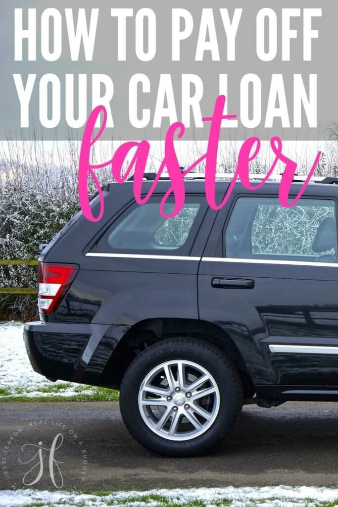 How To Pay Off Your Car Loan Faster Jessi Fearon Car Loans Paying Off Car Loan Money Management Printables
