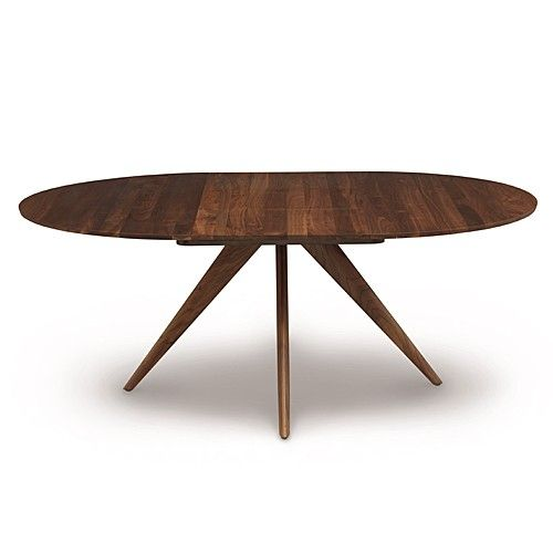 Catalina Round Extension Table 48 Inches Extendable Dining Table Modern Round Extendable Dining Table Round Extension Table