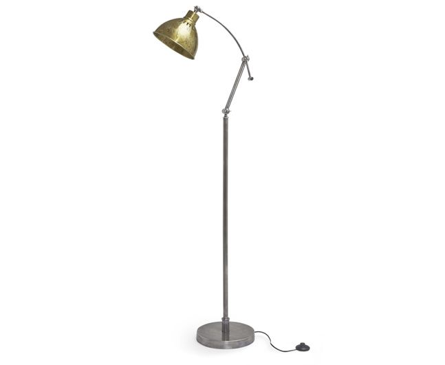 9ab589159cad Loco floor lamp with Oscar sofa in Pitch Blue classic linen