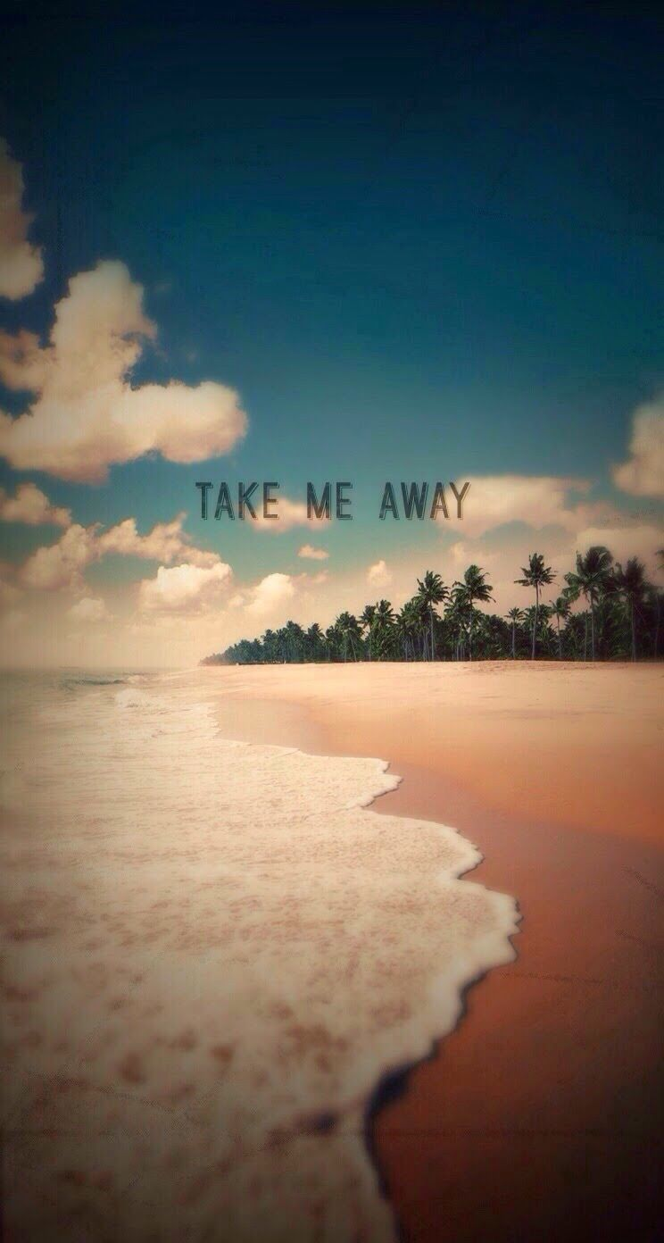 Take Me Away Exotic Beach Shore IPhone 6 Plus HD Wallpaper