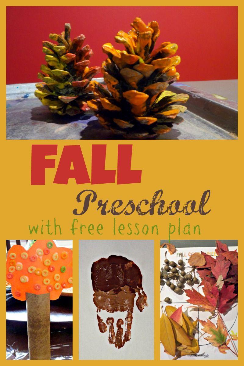 Fall Preschool Week | More Excellent Me