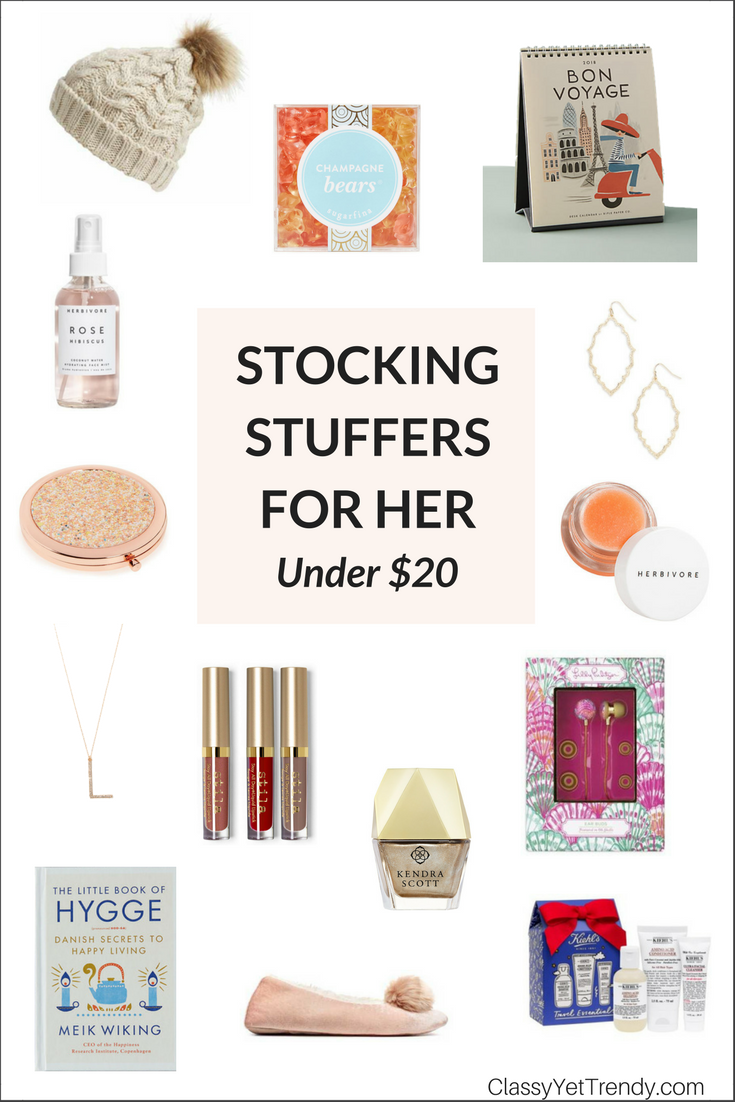 Gift Guide Stocking Stuffers For Her Under 20 These Presents You Can Give